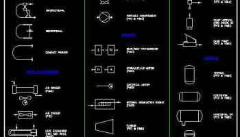 Free Electric and Plumbing Symbols – Download AUTOCAD Blocks