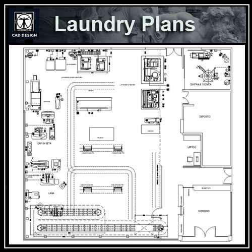 Laundry plan design
