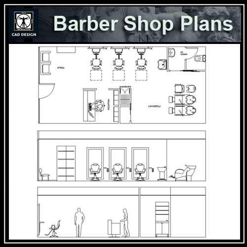Barber Shop plan