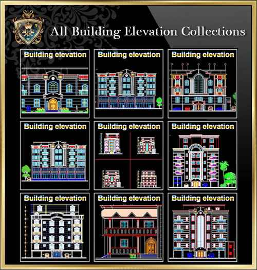【All Urban Design CAD Drawings Collections】(Best