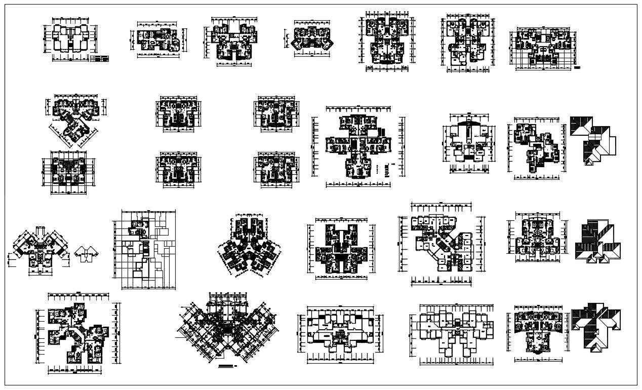 85 Types of Residential Layout Plans】 (Best Recommanded ...