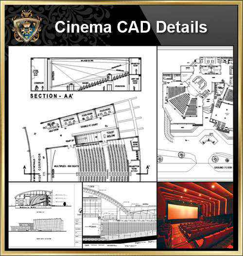 ★【Residential Building CAD Design Collection V.2】Layout,Lobby,Room design,Public facilities,Counter@Autocad Blocks,Drawings,CAD Details,Elevation
