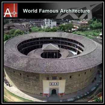 China Tulou Sketchup 3D model