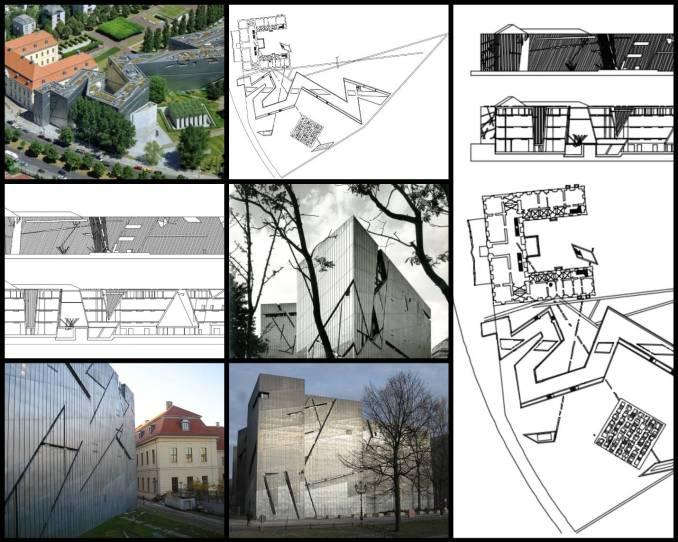 【世界知名建築案例研究CAD設計施工圖】Judisches Museum猶太博物館