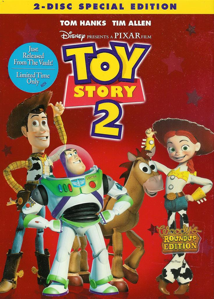 Story Story Toy Pixar Disney 2 Toy Dvd