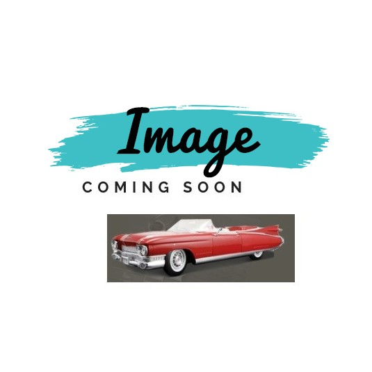 1959 1960 Cadillac 2 Door Lower Window Channel Left And