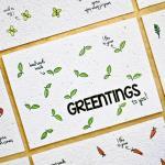 bloom bloeikaart groente kruiden greentings