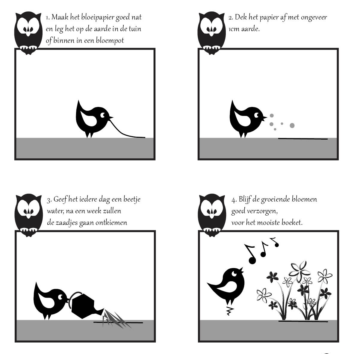 bloom bloeikaart uitleg
