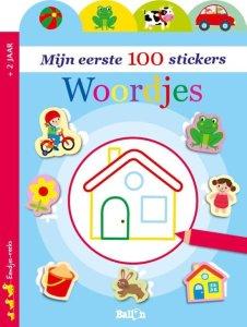 100 eerste woordjes sticker boek