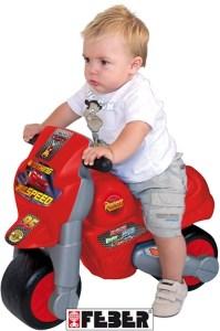 Loopmotor baby cars