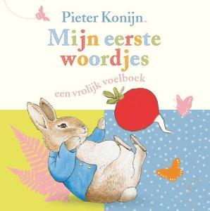 Pieter konijn eerste woordjes boek