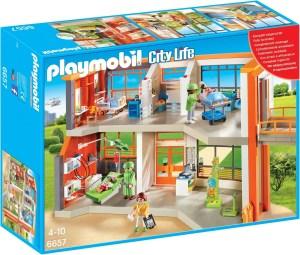 Playmobil ziekenhuis 4 jaar