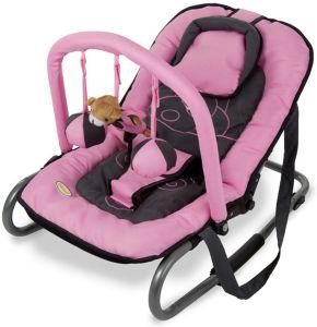 Baninni Wipstoeltje de Luxe met Speelboog - Hippo Roze