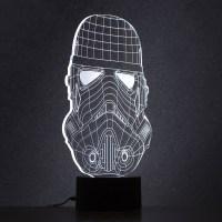 Lampe Star Wars  leffigie dun Stormtrooper en acrylique ...