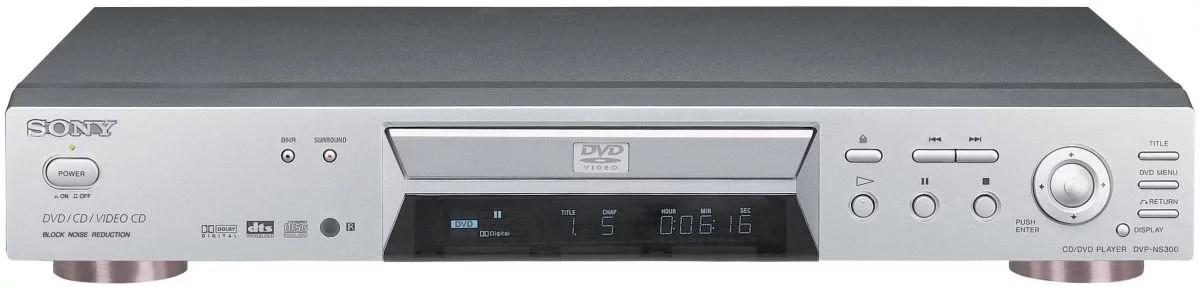 Cadeau Entreprise Luxe Lecteur DVD Sony DVPNS300 Gris