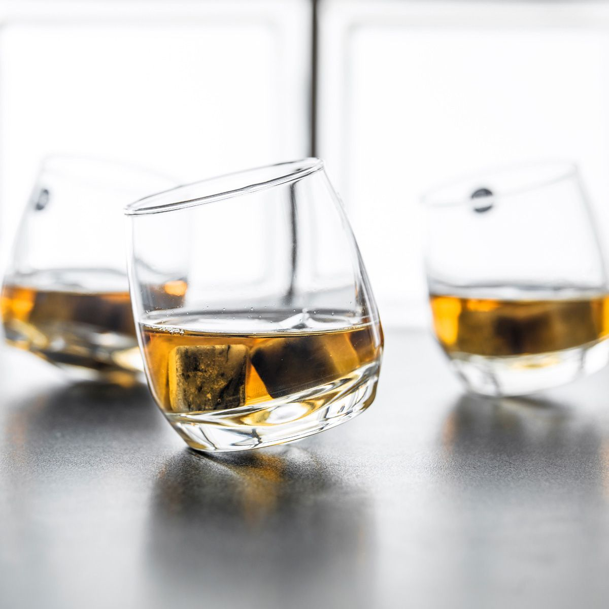 verres a whisky toupie set de 6 verres