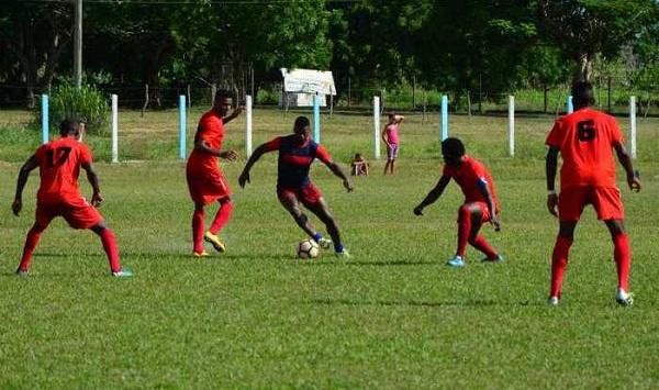Camagüey vs. Santiago de Cuba en torneo nacional de Fútbol