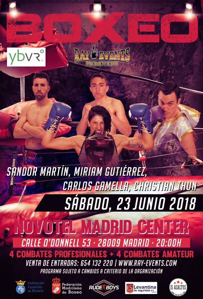 Velada en Madrid 23VI18
