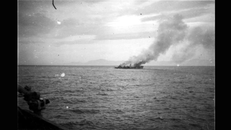 LA Guerra Civil en el mar