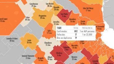 Photo of Estudiantes crearon un mapa digital que mide contagios de COVID-19