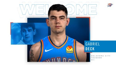 Photo of Gabriel Deck firmó contrato con Oklahoma City Thunder