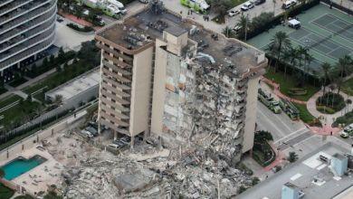 Photo of Continúa el alerta roja por nuevos derrumbes en Miami Beach
