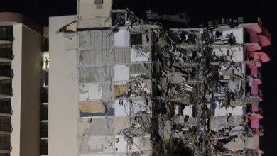 Photo of Al menos una persona muerta y nueve heridas por el derrumbe de un edificio en Miami