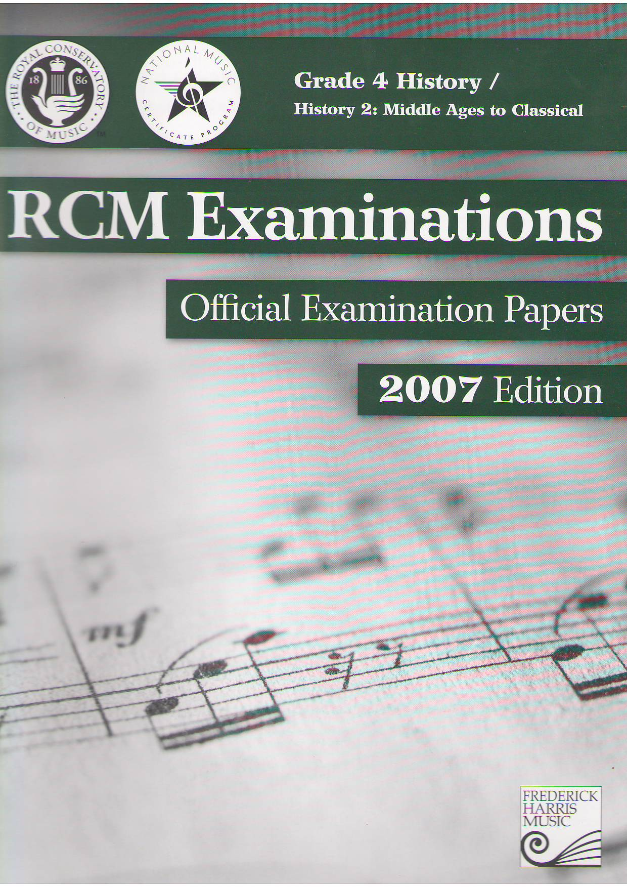 Rcm Official Examination Papers History 2 Middle Ages To Classical Grade 4 History