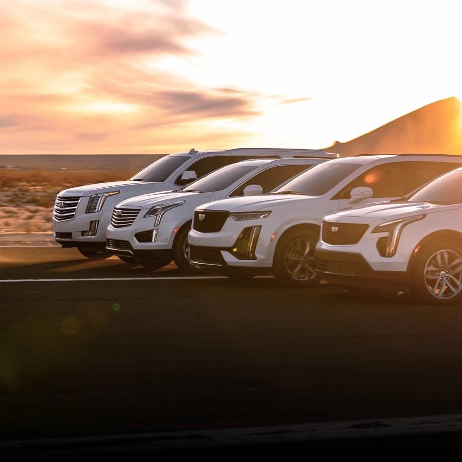 hight resolution of cadillac escalade xt6 xt5 xt4 vehicle lineup