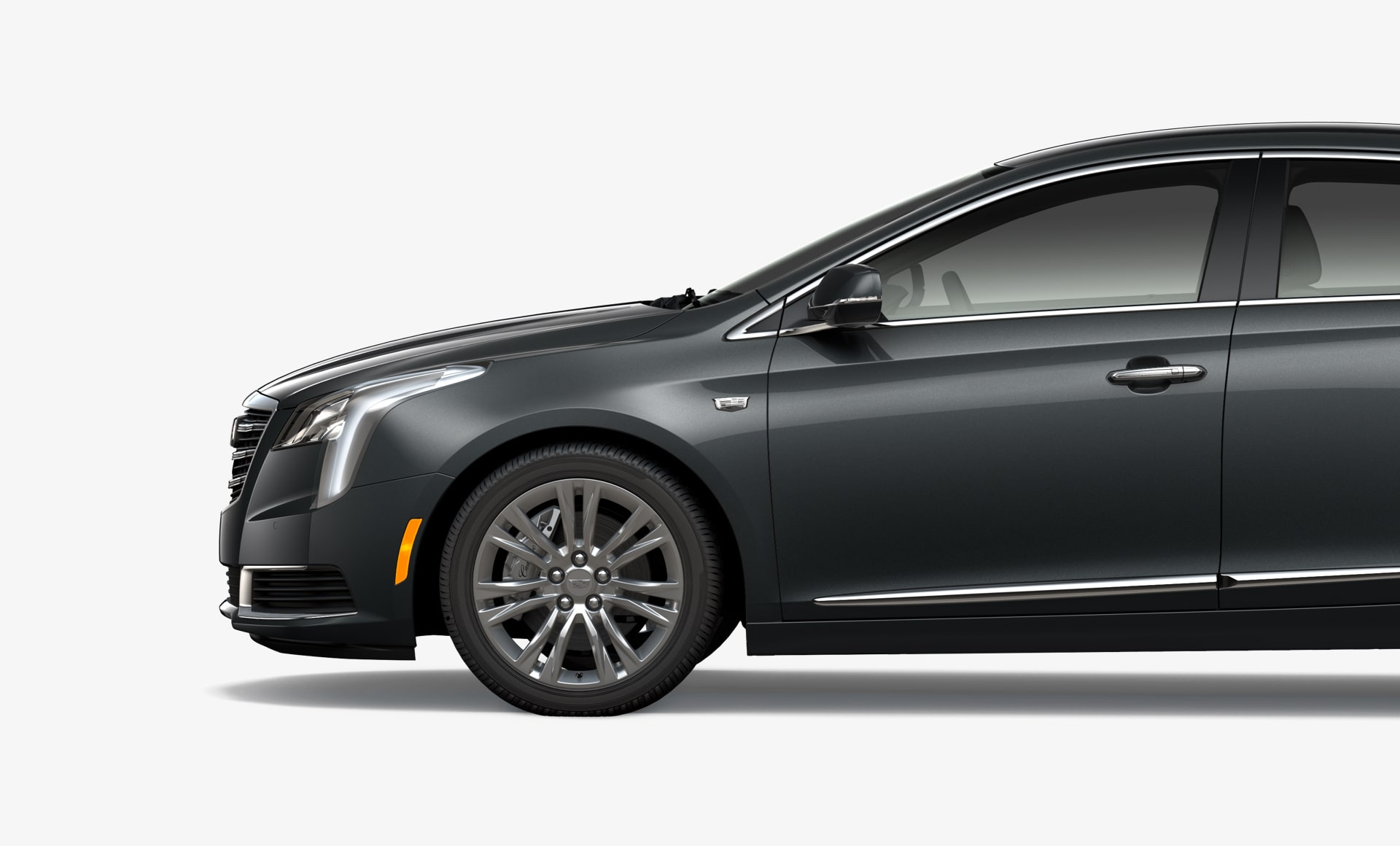 small resolution of side view of xts sedan