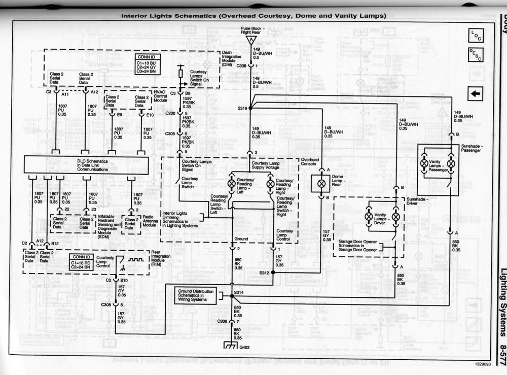 medium resolution of interior overhead lamp wiring diagram cts cts v