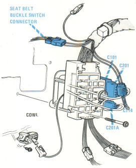 photocell installation wiring diagram electric tankless water heater 76 to 79 cadillac seville home page fuse block