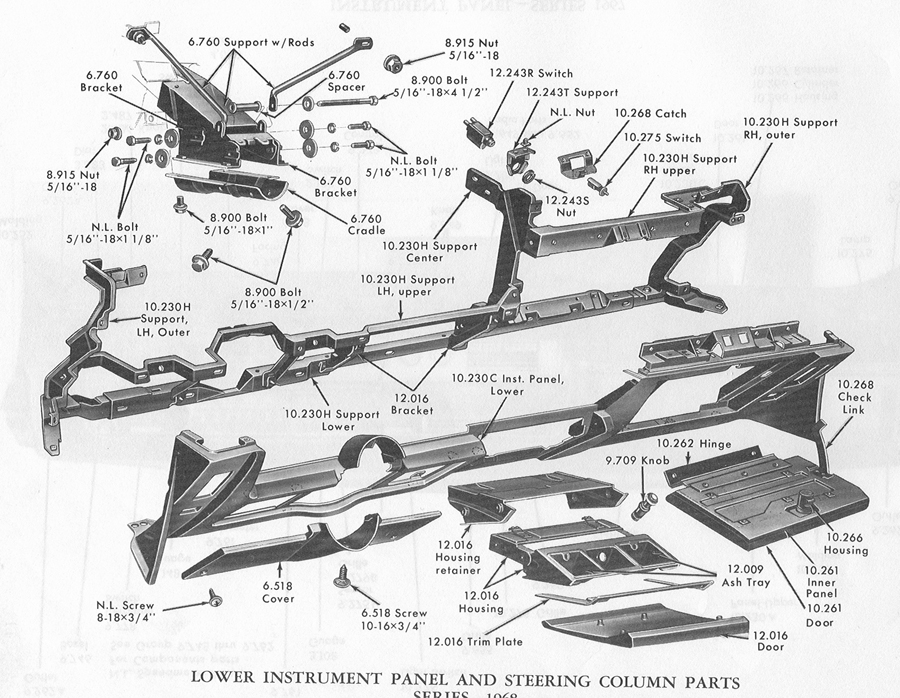 1968 Dodge Instrument Cluster Wiring Diagram : 44 Wiring