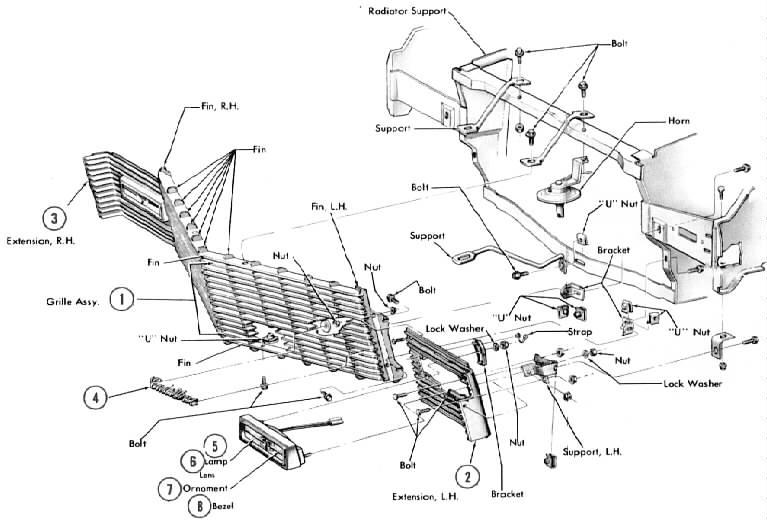 Cadillac Front End Suspension Diagrams. Cadillac. Auto