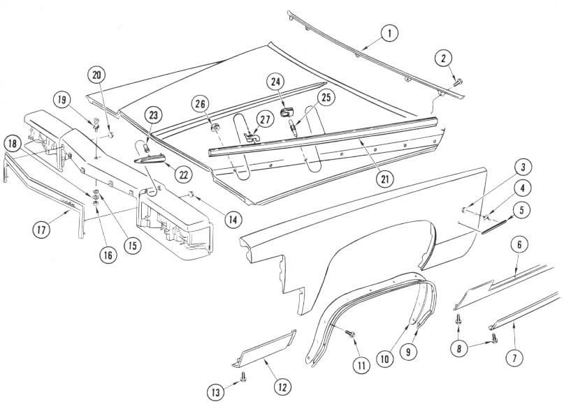 Service manual [How To Remove Front Fender On A 1984