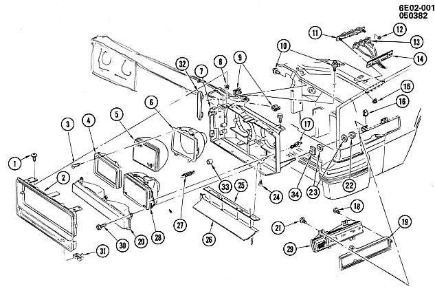 1976 Cadillac Eldorado Wiring Diagram. Cadillac. Auto Fuse