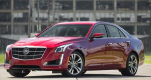 2014 Cadillac Cts Vsport Front Three Quarters
