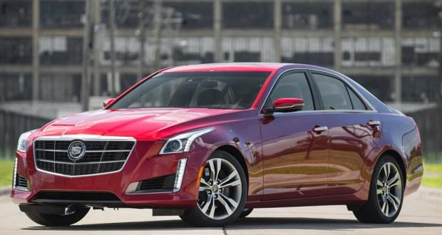 2014 Cadillac Cts Vsport Front Three Quarters