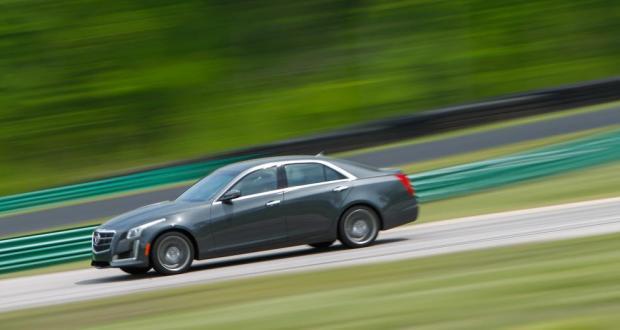 Lightning Lap 2014: Cadillac CTS Vsport