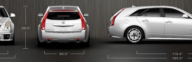 2013 Cadillac CTS-V Wagon Dimensions
