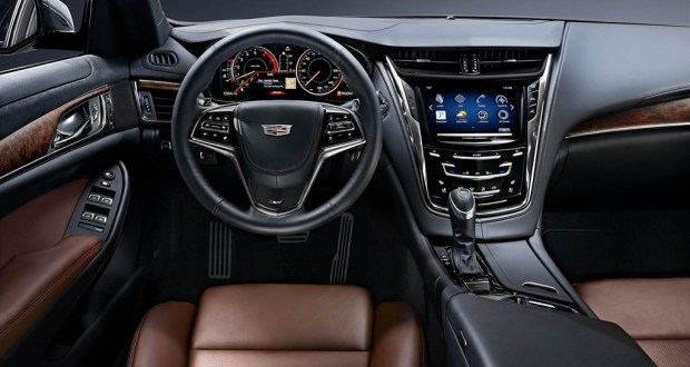 2015 Cadillac CTS and CTS Vsport Sedan Specifications