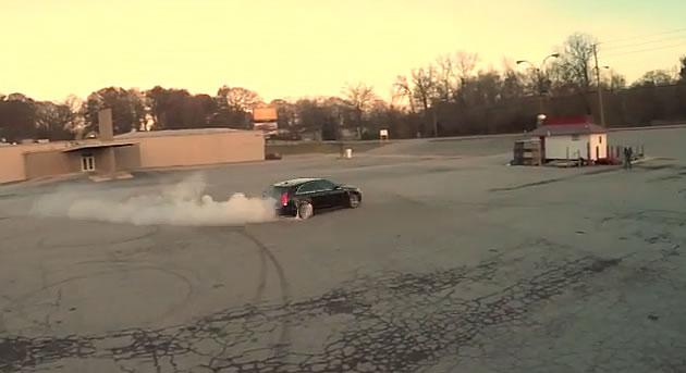 Atlanta Drift Cadillac Cts V Wagon Drift Video Cadillac V Net