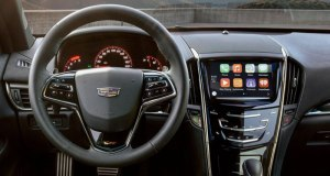 This summer Cadillac will begin deploying Apple CarPlay on the majority of its 2016 models. This is a key aspect of several enhancements in connectivity and control features to Cadillac CUE. The Android Auto system for Android phone users is expected to be added later in the model year, as well.