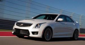2016 Cadillac ATS-V Sedan; Circuit of the Americas in Austin, TX