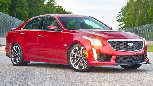 MotorWeek Road Tests the 2016 Cadillac CTS-V