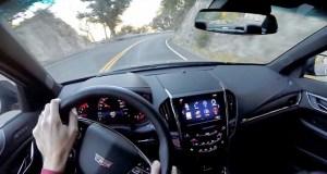 Watch This 2016 Cadillac ATS-V Carve California Canyons