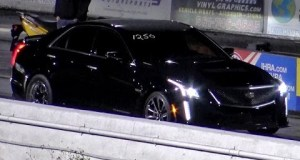 2016 Cadillac CTS-V - 1/4 mile Drag Race Video