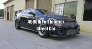 Fastest Cadillac CTS-V in the World! 8.96 @ 162mph