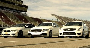 Cadillac ATS-V Takes on the BMW M3 and the Mercedes AMG C63