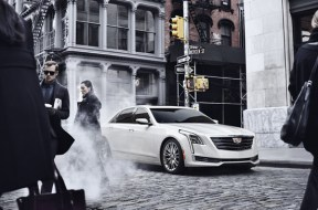 The 2016 Cadillac CT6 elevates to the top of the Cadillac range, and creates a new formula for the prestige sedan through the integration of new technologies developed to achieve dynamic performance, efficiency and agility previously unseen in large luxury cars. Pre-production model shown.